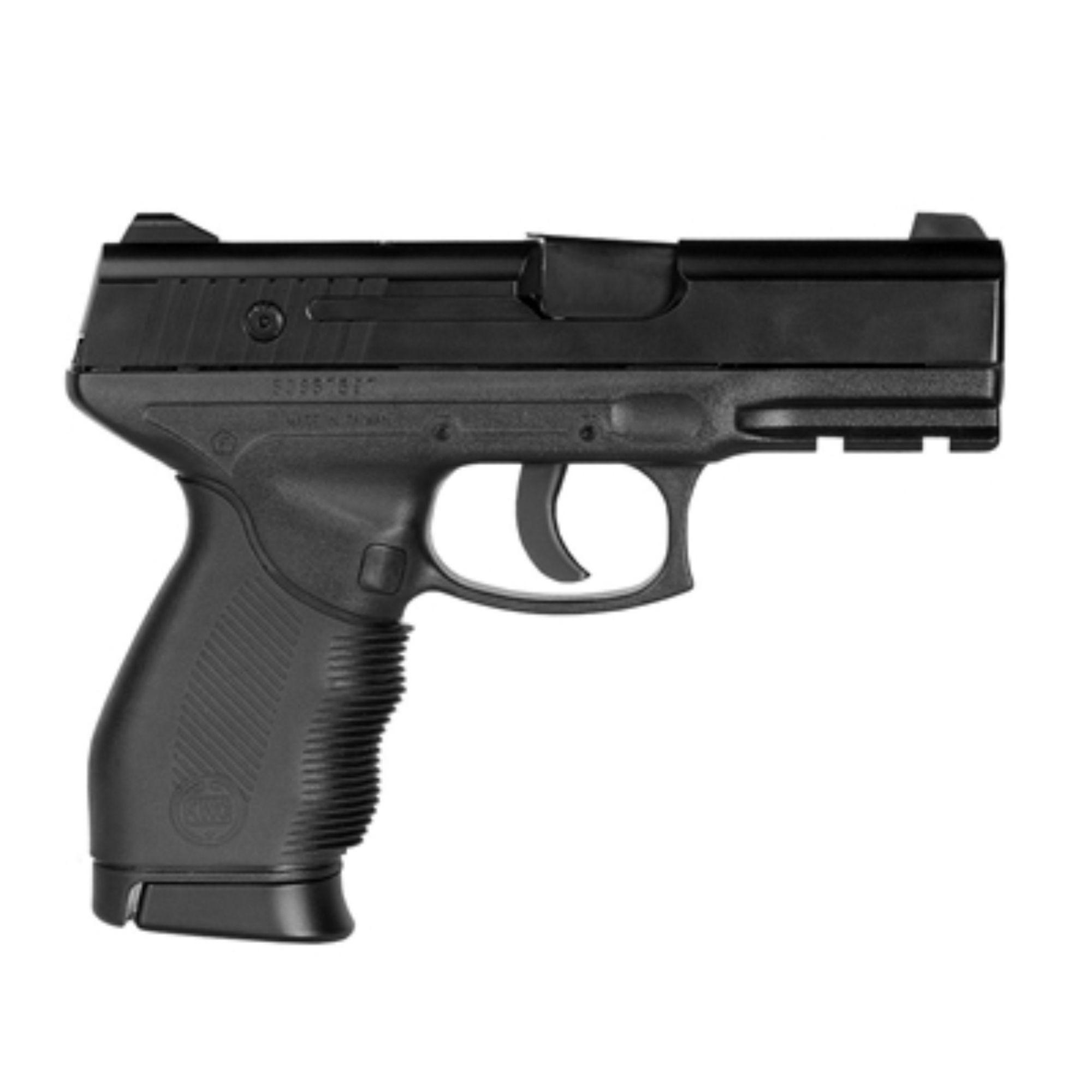 Pistola 24/7 com 5 CO2 600 esferas 4,5mm e maleta rígida