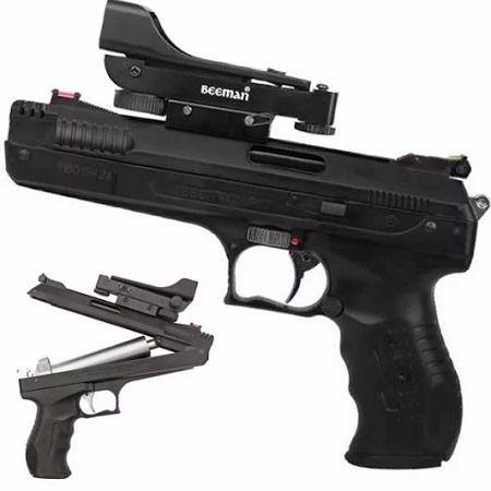 Pistola Beeman 2006 P17 5.5 Red Dot e chumbinho