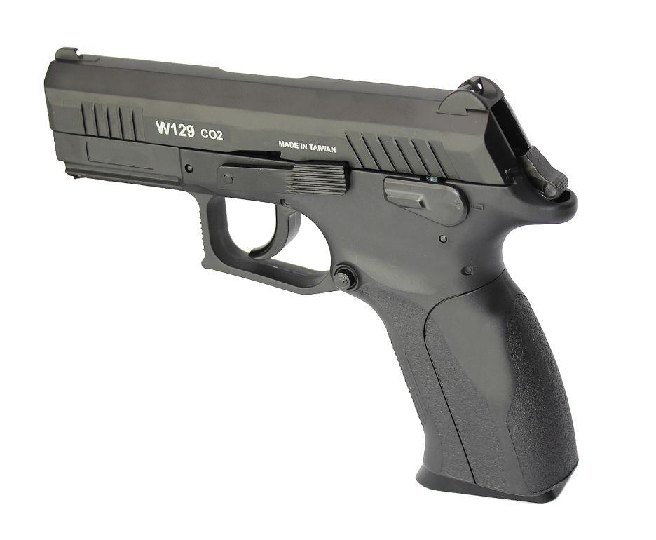 Pistola Pressão Win Gun CZ300 W129 Slide Metal 4.5mm BlowBack