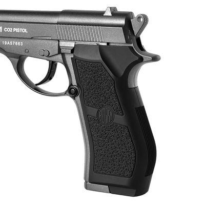 Pistola de Pressão CO2 Wingun W301 Full Metal,
