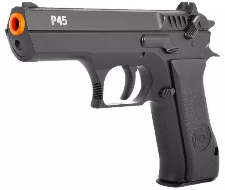 Pistola PCP P45 KWC 4.5  e 600 Esferas