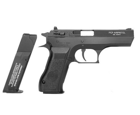 Pistola PCP P45 KWC 4.5 e Pressurizador PCP
