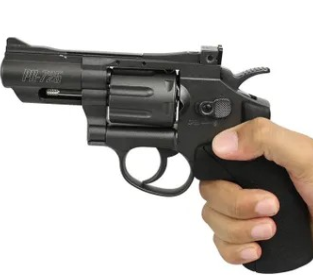 Revolver Gamo PR -725 Full Metal CO2  4,5mm 12 Tiros