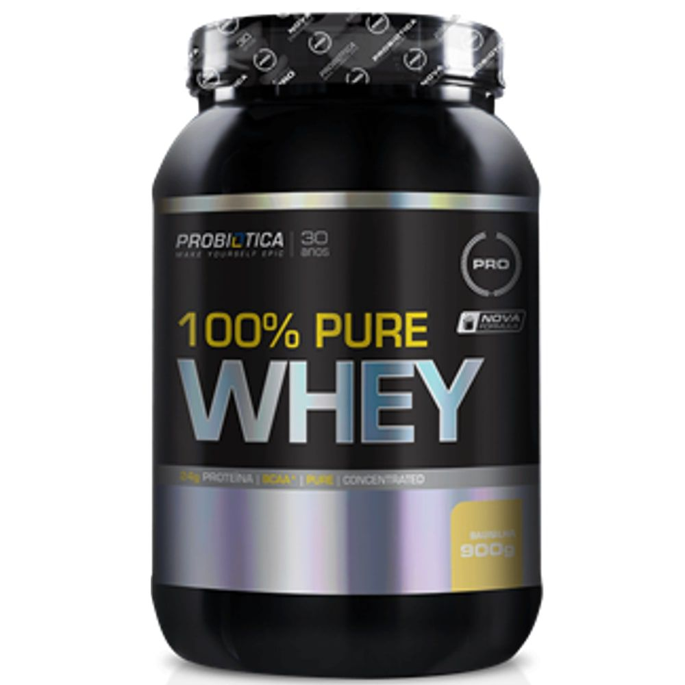 100% Pure Whey 900g - Probiótica   - Personall Suplementos