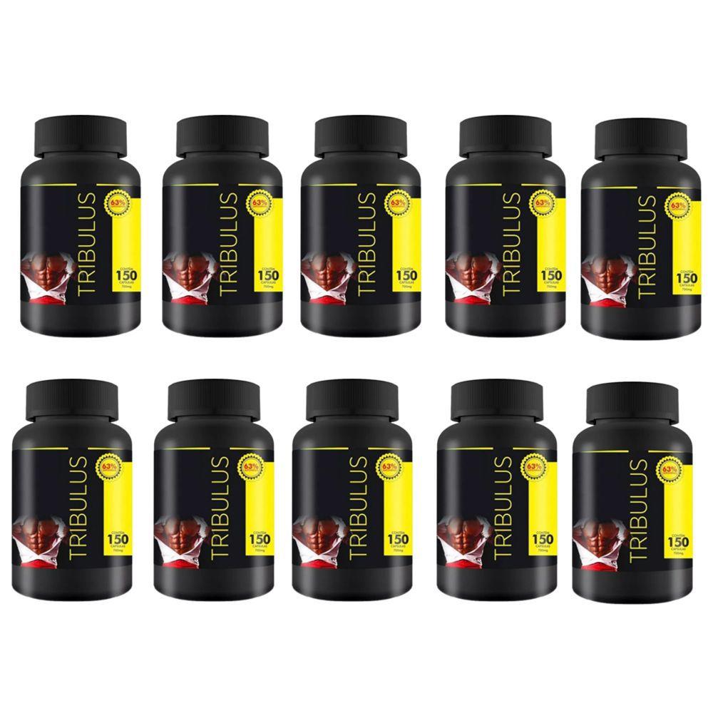 10X Tribulus Terrestris 63% 150caps - Max Power  - Natulha