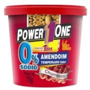 Amendoim Temperado 75g - Power1One