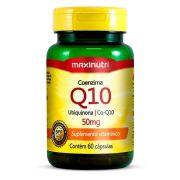 Coenzima Q10 50mg 60 Cápsulas - Maxinutri