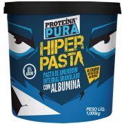 Hiper Pasta de Amendoim Granulado Com Albumina 1,005kg - Proteína Pura