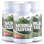 Kit 3x Moringa Oleifera 60 cápsulas - Nutrivale