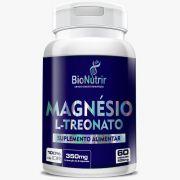 Magnésio L-Treonato 60 cápsulas - Bionutrir