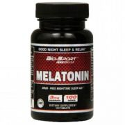 Melatonina 3mg 100caps - Bio-Sport USA