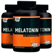 Melatonina 3mg - 3 unidades de 100 comprimidos - Optimum