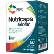 Nutricaps Sênior 60 cápsulas - Maxinutri