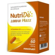 NutriDe 1.000 UI 60 cápsulas - Maxinutri