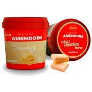 Pasta de Amendoim Com Chocolate Branco 1kg - Mandubim