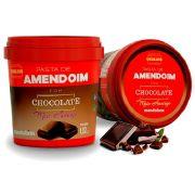 Pasta de Amendoim Com Chocolate Meio Amargo 1kg - Mandubim