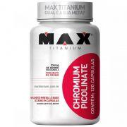 Picolinato de Cromo 120caps - Max Titanium