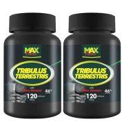 Tribulus Terrestris Com Maca Peruana - 2 unidades de 120 Cápsulas - Max Power