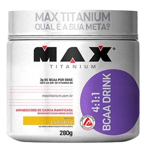 4:1:1 BCAA Drink 280g - Max Titanium   - Personall Suplementos