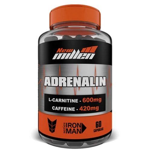 Adrenalin 60caps - New Millen  - Personall Suplementos