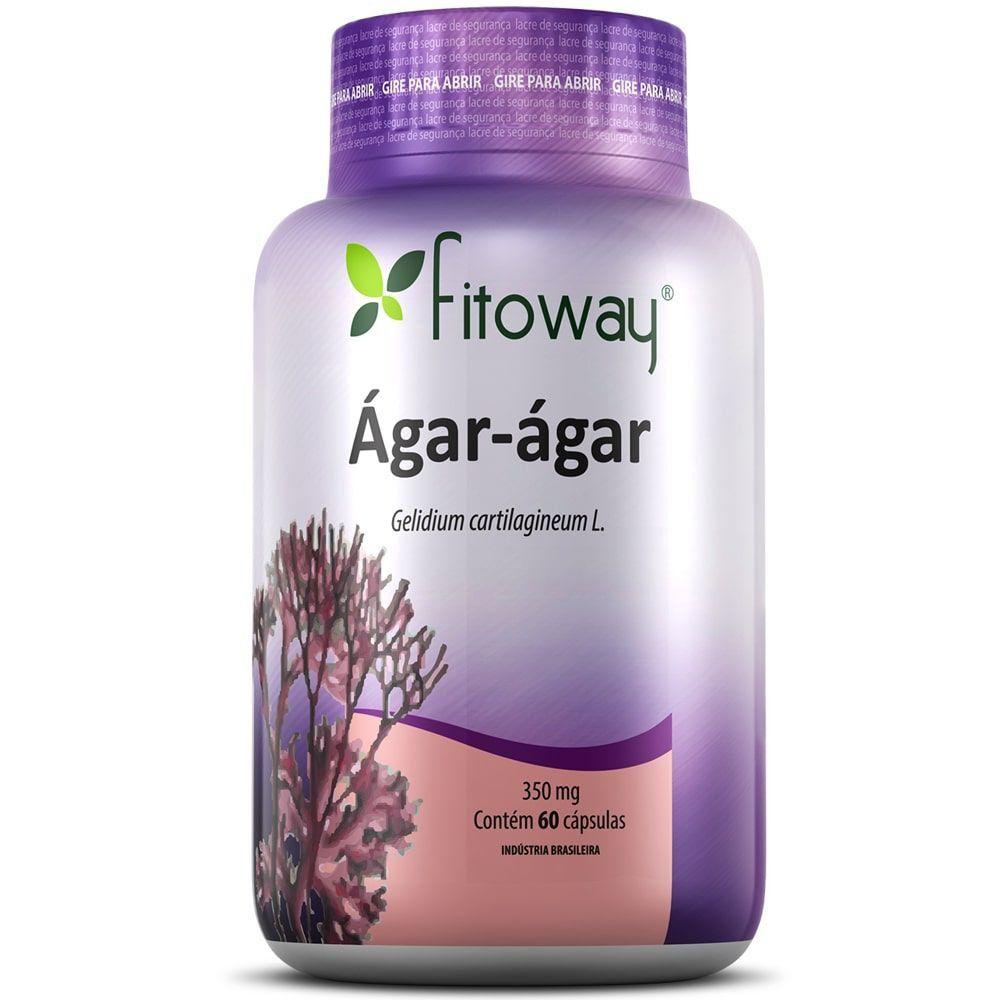 Ágar Ágar 60 Cápsulas - Fitoway