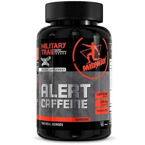 Alert Caffeine 90caps - Military Trail  - Personall Suplementos