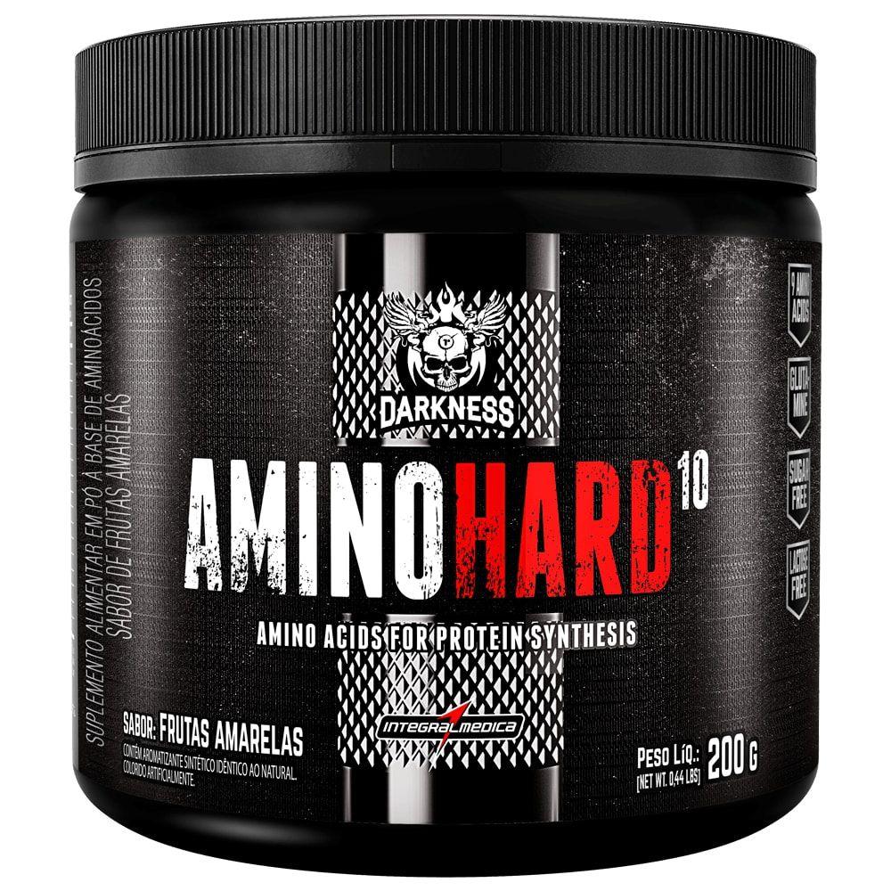 AMINO HARD 10 200G - INTEGRALMÉDICA  - Personall Suplementos