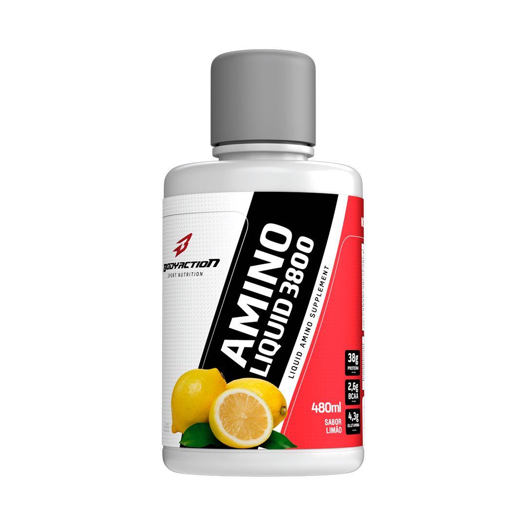 Amino Liquid 480ml - Body Action  - Personall Suplementos