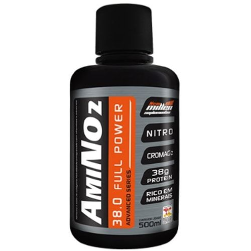 Amino No2 38.0 Full Power 500ml - New Millen  - Personall Suplementos