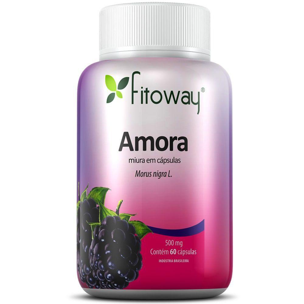 Amora 60 cápsulas - Fitoway  - Natulha