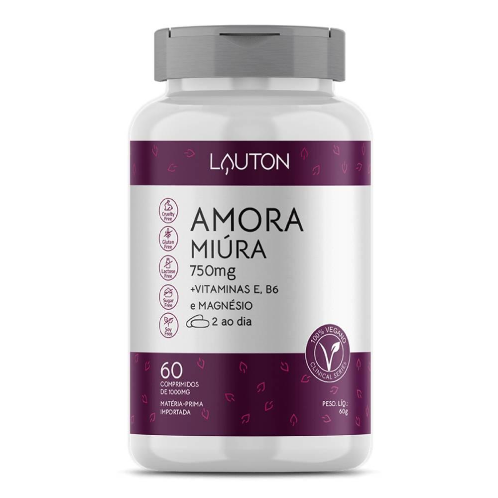 Amora Miúra Premium 750mg 60 comprimidos - Lauton Nurition