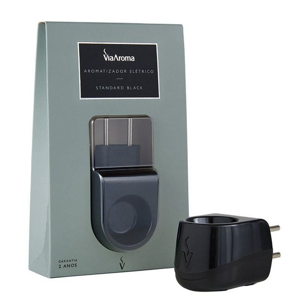 Aromatizador Elétrico Bivolt Standard Black - Via Aroma