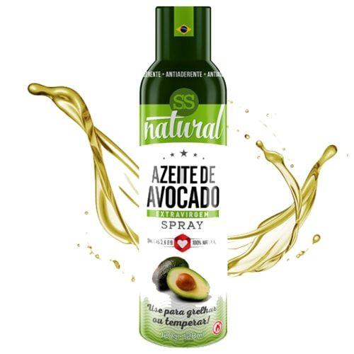 Azeite de Avocado Spray 128ml - SS Natural  - Personall Suplementos