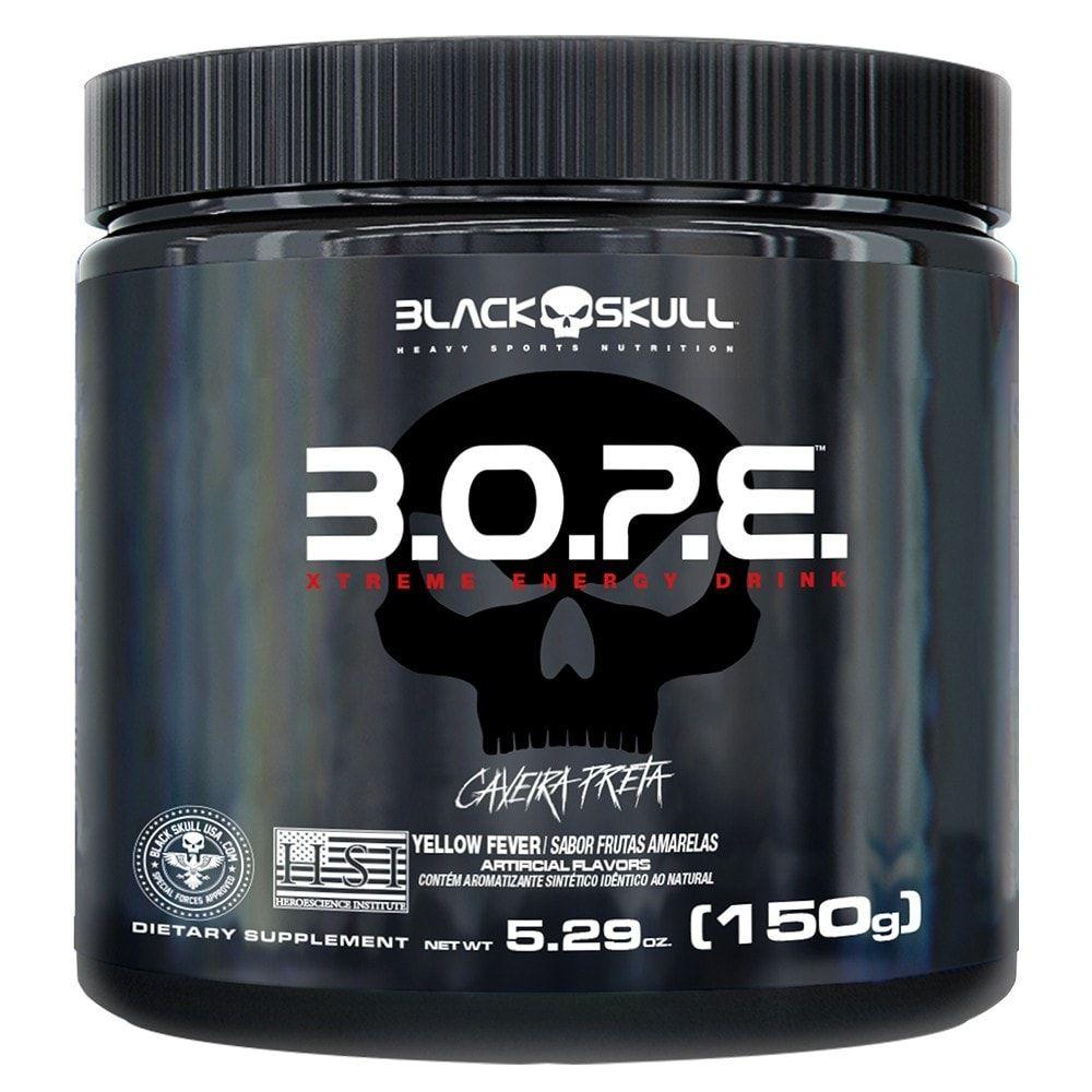 B.O.P.E 150 gramas - Black Skull  - Personall Suplementos