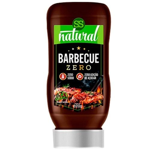 Barbecue Zero 220g - SS Natural  - Personall Suplementos