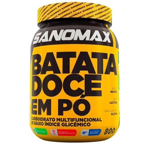 Batata Doce 800g - Sanomax  - Personall Suplementos