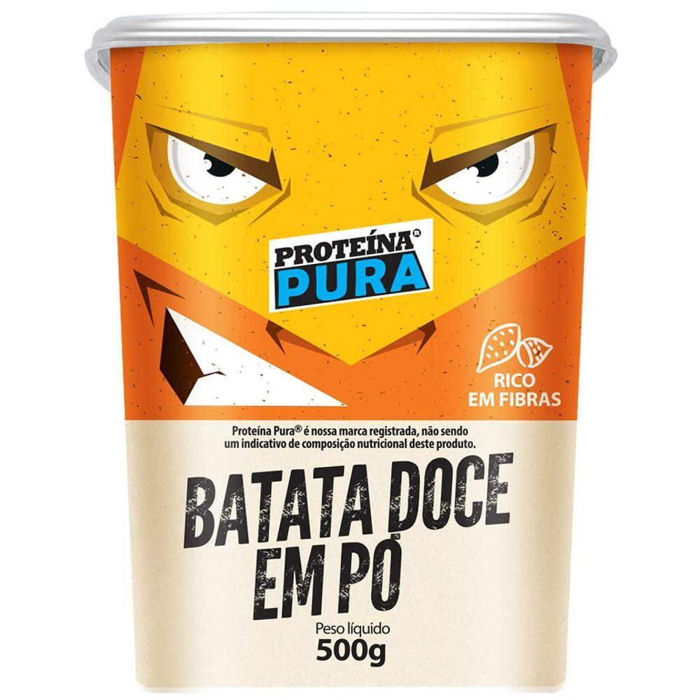 Batata Doce em pó 500g - Proteína Pura