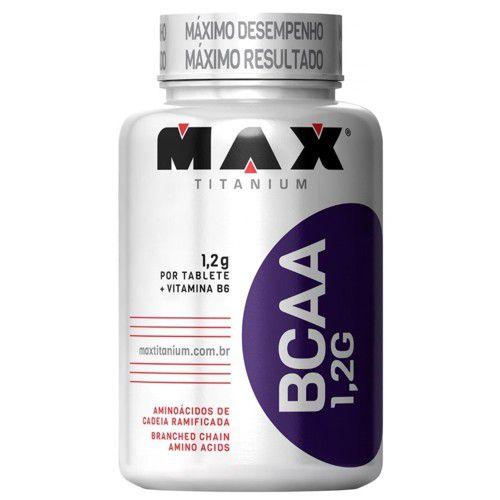 BCAA 1,2G 120tabs - Max Titanium  - Personall Suplementos