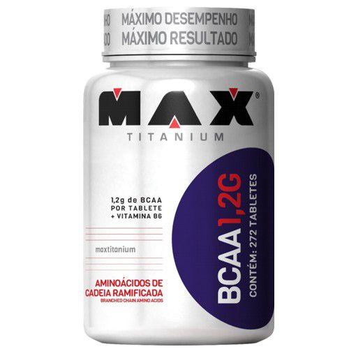 BCAA 1,2G 272tabs - Max Titanium  - Personall Suplementos