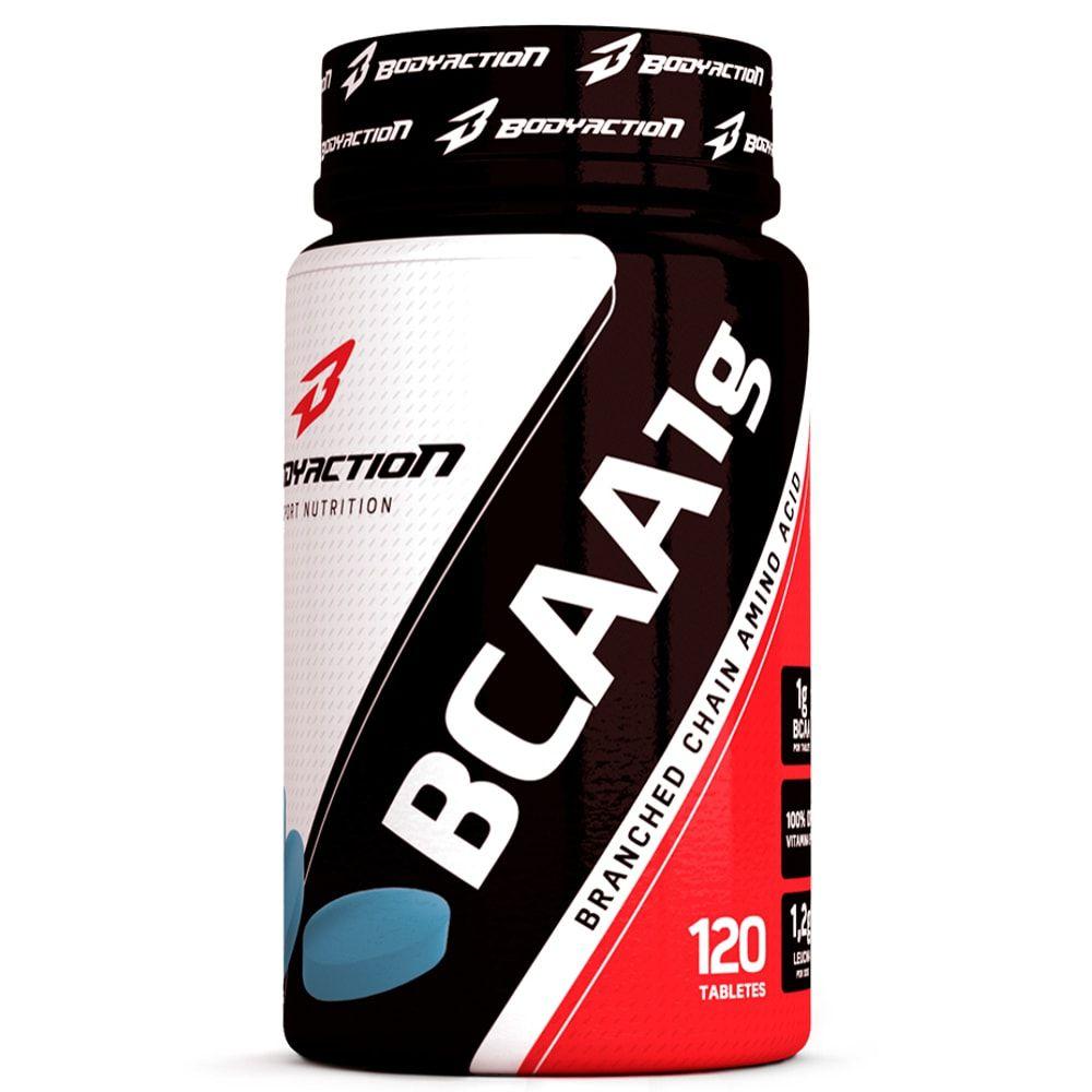 BCAA 1G 120 tabs - Body Action  - Personall Suplementos
