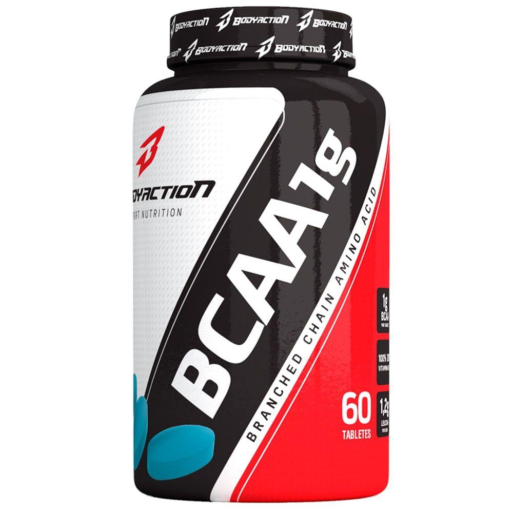 BCAA 1G 60 tabs - Body Action  - Personall Suplementos