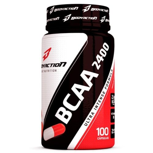 BCAA 2400 100caps - Body Action - Personall Suplementos