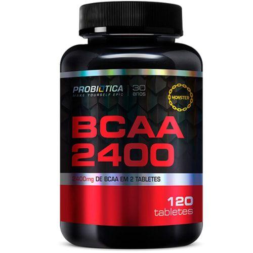 BCAA 2400 120tabs - Probiotica  - Personall Suplementos