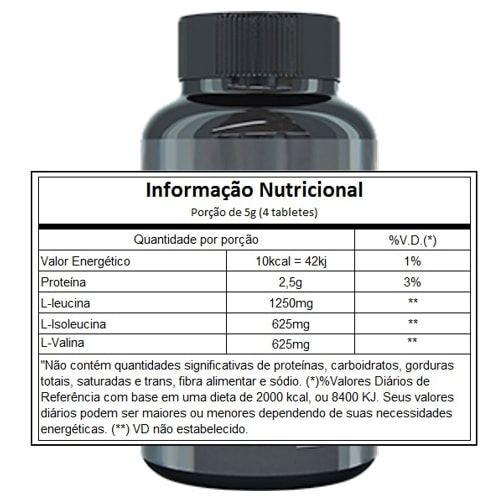 BCAA 2500 120 tabs - Black Skull  - Personall Suplementos
