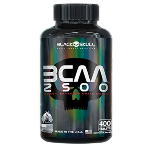 BCAA 2500 400 tabs - Black Skull  - Personall Suplementos