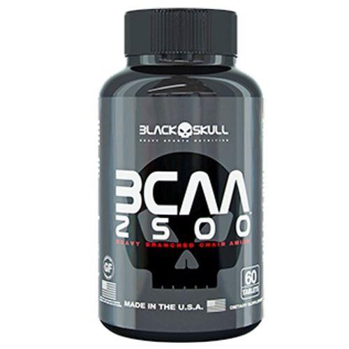 BCAA 2500 60 tabs - Black Skull  - Personall Suplementos