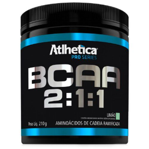 BCAA 2:1:1 Pro Series 210g - Atlhetica Nutrition  - Personall Suplementos