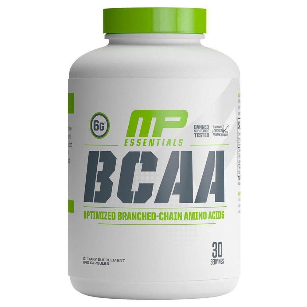 BCAA 3:1:2 240 cápsulas - Muscle Pharm