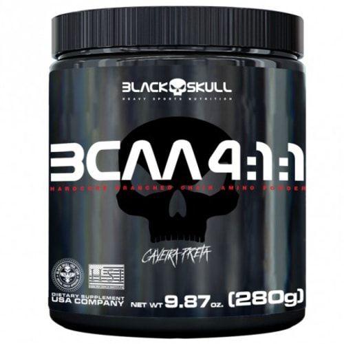 BCAA 4:1:1 280g - Black Skull  - Personall Suplementos