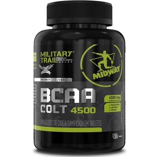 Bcaa Colt 4500 120tabs - Military Trail  - Personall Suplementos